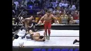 Smackdown 2002 - The Rock & Edge Vs Chris Benoit & Eddie Guerrero