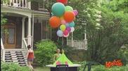 С Балоните отлетя и покривката за следобедният парти пикник - Скрита камера