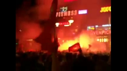 Турските фенове по улиците на Берлин 2008