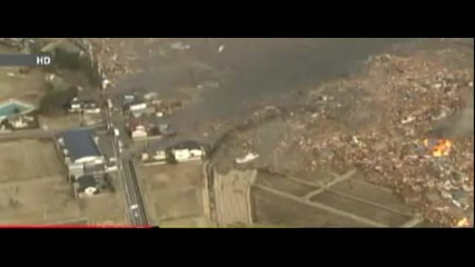 Цунами след земетресението в Япония