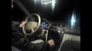 Flogger - night cruising at high speed - 240 km/h