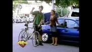 Скрита Камера: Опа, Май Ти Счупих Колата!!