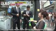 [ Eng Subs ] Running Man - Ep. 49 (with Goo Hara from Kara and Noh Sa Yeon) - 1/2