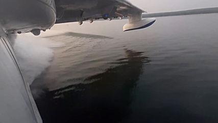 Russia: EMERCOM planes battle Siberian wildfires