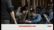 New Behind the Scenes at Jacobs House Filming New Moon Exclusive Footage