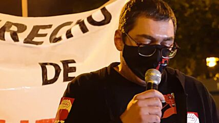 Spain: Hundreds of left-wing protesters march in Madrid against political repression