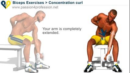 Бицепс упражнения - как да си направите добър бицепс