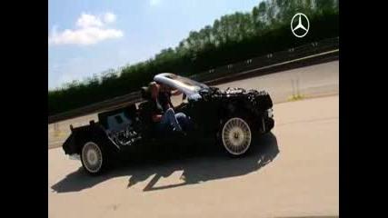 кабрио на Mercedes