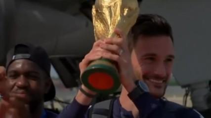 Луд купон във Франция след трофея на Мондиала