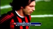 Andrea Pirlo - Il genio da centrocampo compilation 2009 2010 2009 10 New !!!