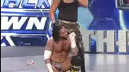 Smackdown 11/12/09 - Matt Hardy and R - Truth vs Cm Punk and Luke Gallols
