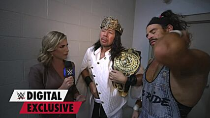 King Nakamura is livid after suffering sneak attack: WWE Digital Exclusive, Sept. 17, 2021