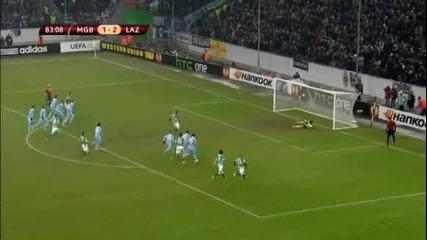 Борусия М - Лацио 3:3 ( Лига Европа, 1/16 финал (15-02-2013)