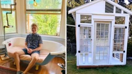 Хора, които реновираха стари неща и направиха домовете си уникални