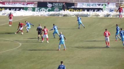 ЦСКА спечели с 2:0 срещу Струмска слава