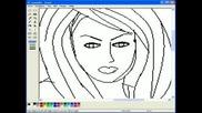 Как Да Нарисуваш Жена С Ms Paint