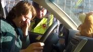 Хамстер играчка троли руски полицай при проверка на шофьор!смях