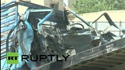 Afghanistan: NATO convoy hit by blast in Kabul - four dead, 19 injured