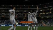 Fifa 11! гол на Роналдо от 40 метра срещу Барселона!