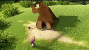 Мультфильм Маша и Медведь. Ловись рыбка (2 серия)