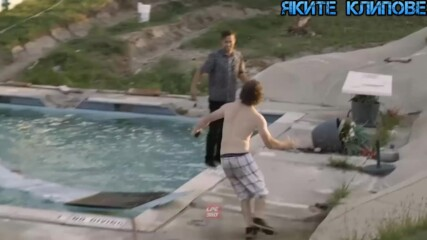 Гафове на басейна - Яките клипове