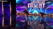 Момчета показват завидни умения в танците и бойните изкуства - Britain's Got Talent