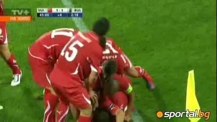 Срам и позор в деня на празника! Швейцария 3 - 1 България 06.09.2011