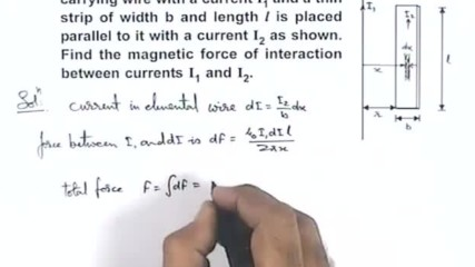 Solved Example-8 on Electromagnetic Force GA_EMF11X3