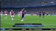 Меси и Неймар са на скорост преди Ел Класико! 21.10.2014 Барселона - Аякс 3:1