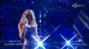 Швеция - Песен За Евровизия 2008