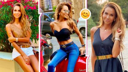 Въпреки трудностите в личния живот, Ивайла Бакалова се усмихва на света