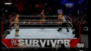 [част2] The Rock and John Cena vs Awesome Truth - Survivor Series 2011