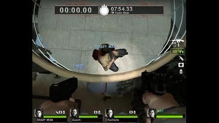 Left 4 Dead 2 Как да се качим на покрива на Dead Center [hq]