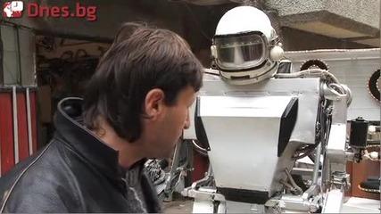 * Желязко - Варненският робот създаден от вторични части *