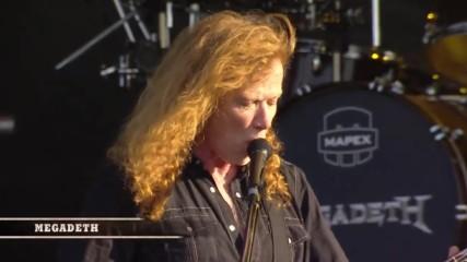 Megadeth - Live Carolina Rebellion // 2016 Highlights True Hd