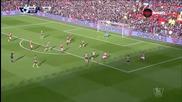 Манчестър Юнайтед - Арсенал 3:2, 27 кръг, Висша лига