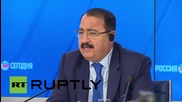Russia: Russian presence in Syria 'absolutely necessary to fight terrorism' - Riad Haddad