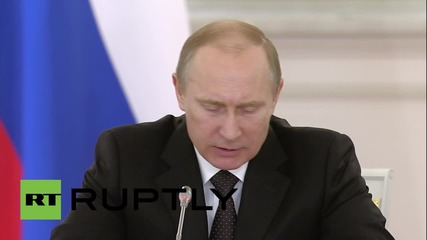 Russia: Putin talks WWII 'Victory Day' celebrations