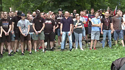 Poland: Police separate right-wing activists from LGBT parade in Czestochowa