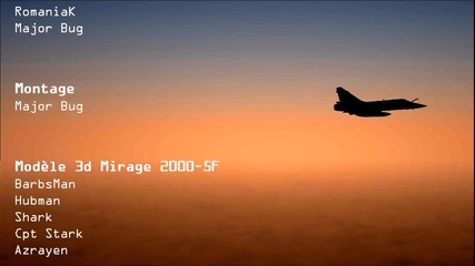 Mirage 2000 Lock on