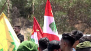 Lebanon: Hezbollah supporters rally against visit of US Central Command Chief