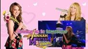 Miley Cyrus ft. Emily Osment - Where ever I Go [karaoke/instrumental]