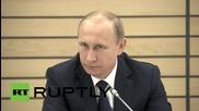 Путин говори за студентския живот в университета в Санкт Петербург
