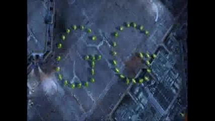 Starcraft 2 - Gameplay Видео 2