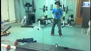 Смях!!! Justin Bieber Dancing - In Reverse