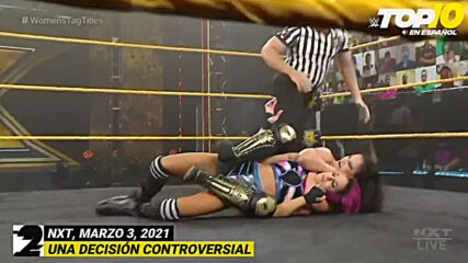 Top 10 Mejores Momentos de NXT: WWE Top 10, Mar 3, 2021