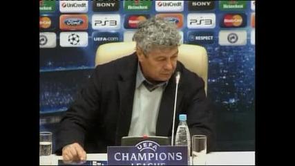 След срещата от Шампионската лига