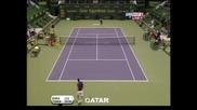 Трудна победа за Федерер в Доха