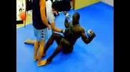 Alain Ngalani martial Arts Training