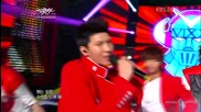 (hd) Vixx - Super hero ~ Music Bank (15.06.2012)